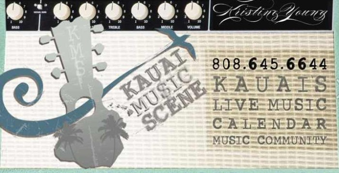 Artwork from Kauai Music Scene's website