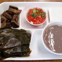 A Pork Laulau Lunch Plate