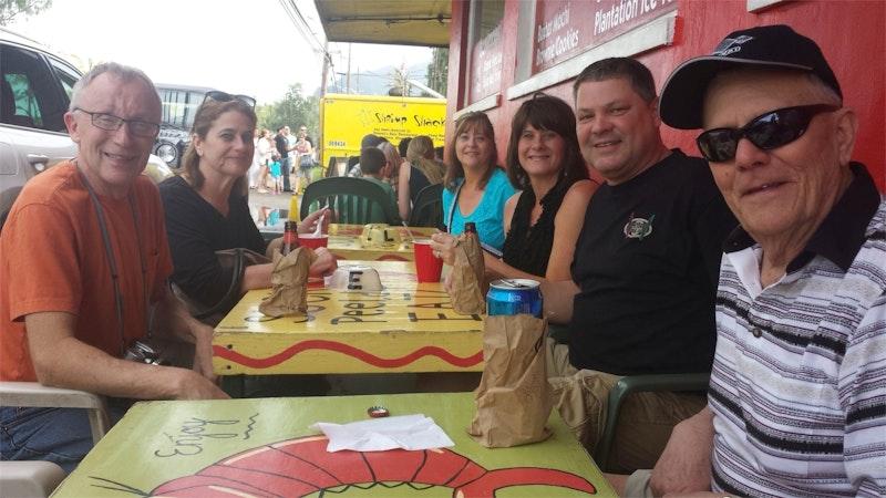 Enjoy Oahu's North Shore Food Trucks