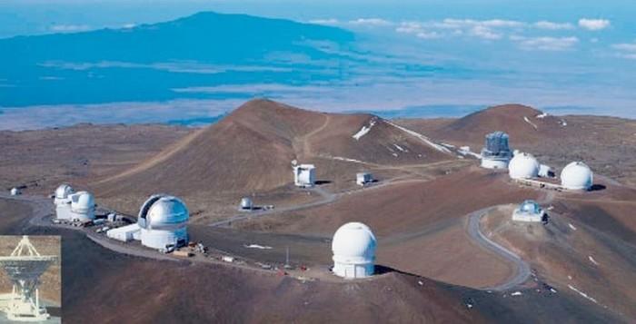 Mauna Kea Observatory on the Big sland