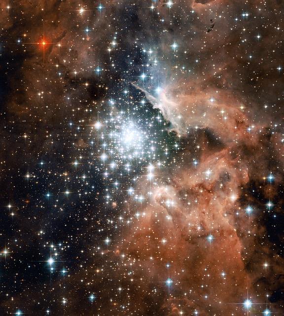 Constellation of Stars in the Hawaiian skies