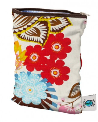 Floral Planet Wise Wet Bags