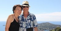 Bruce and Yaling Fisher in Monte Carlo France