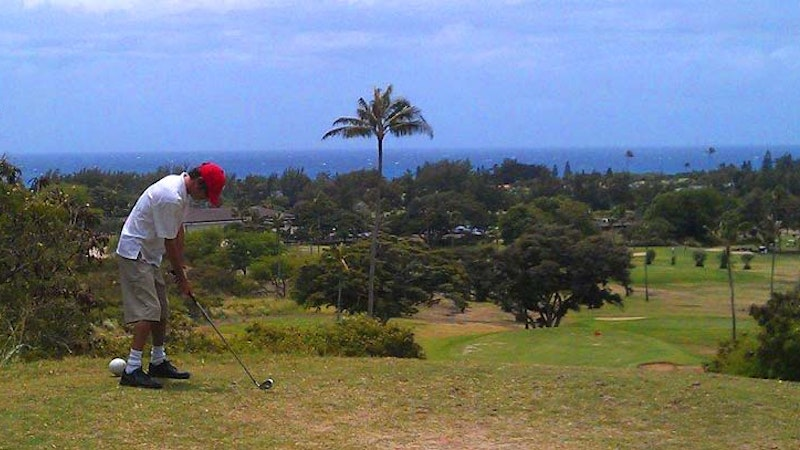 Sneak in a Round of Golf at Hawaii Kai