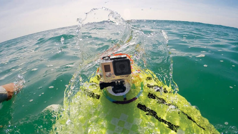 GoPro cameras are everywhere!