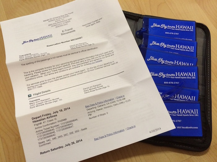Do you read your Hawaii travel documents?