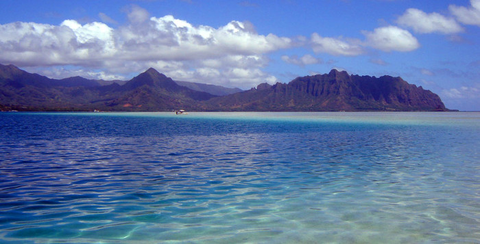 Sandbar at Kaneohe Bay