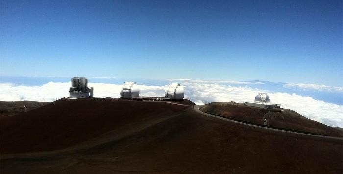 Mauna Kea Observatory wide shot