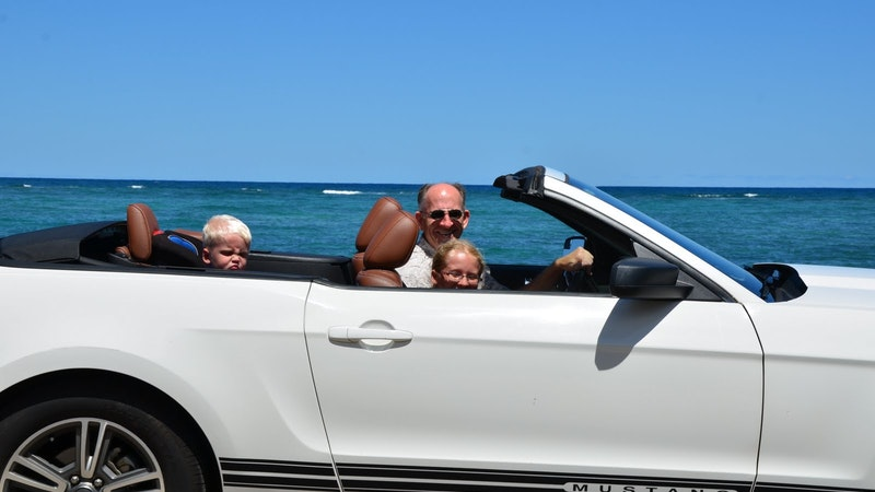 Rental Car Exploits on Oahu