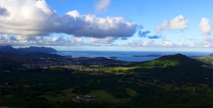 Kaneohe Bay Panorama