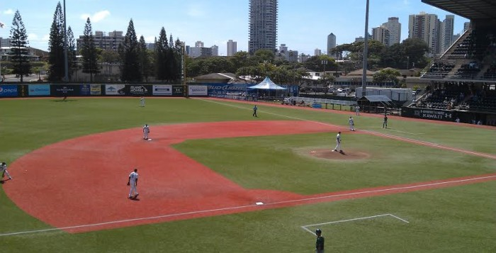 Les Murakami Stadium in Honolulu