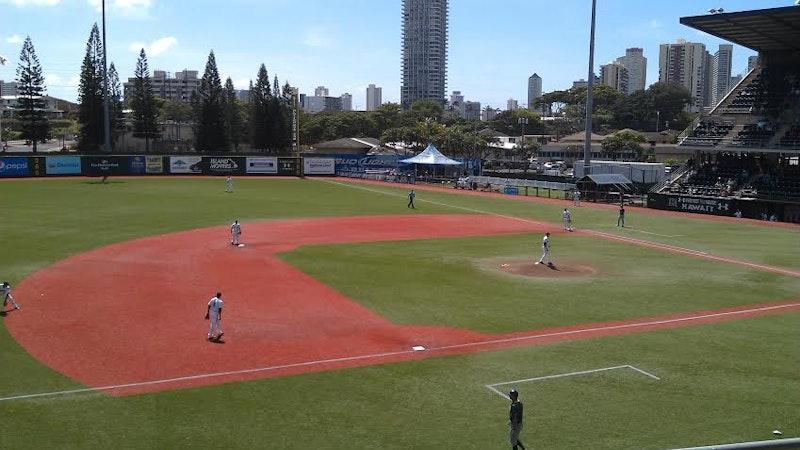Take in Some Baseball at Les Murakami Stadium