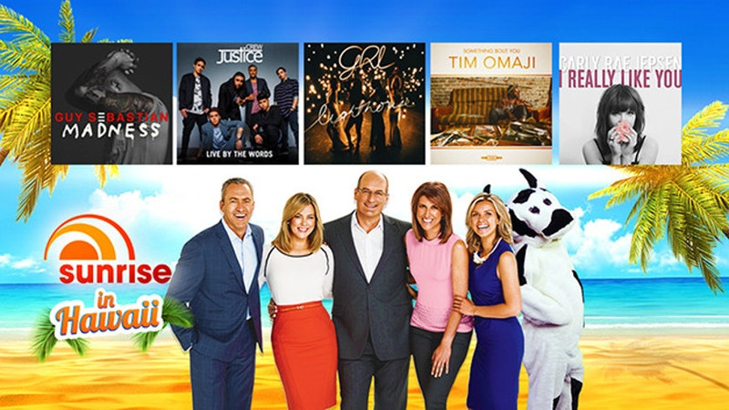 Aussie TV morning show comes to Waikiki