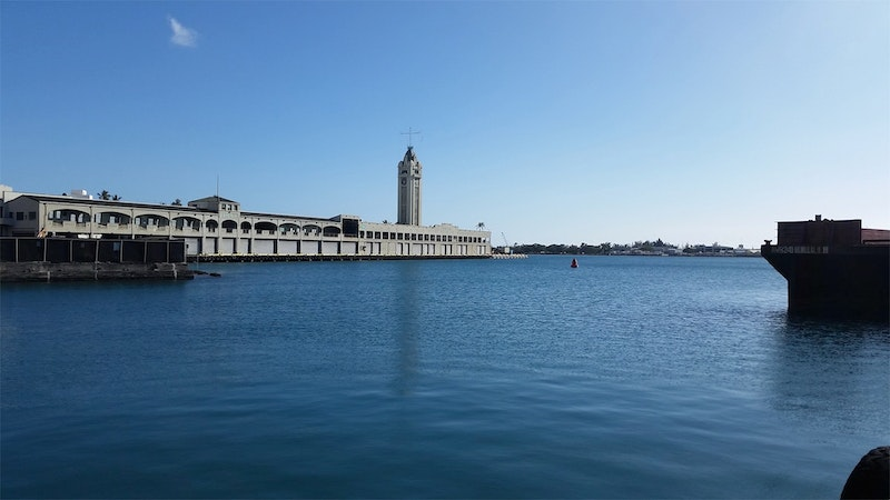 On the Waterfront at Honolulu Harbor