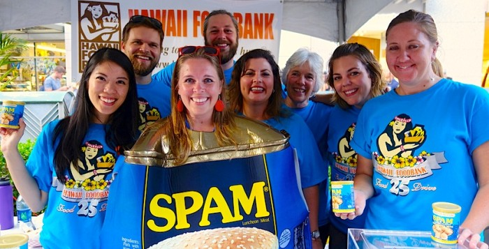 Some of the Waikiki Spam Jam participants