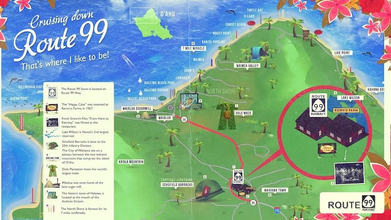 Forget Route 66 – Hawaii has Route 99