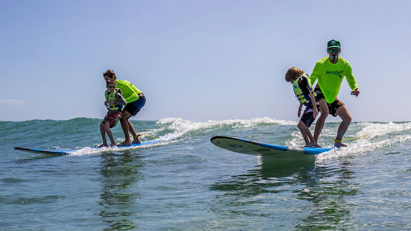 AccesSurf takes those with disabilities surfing