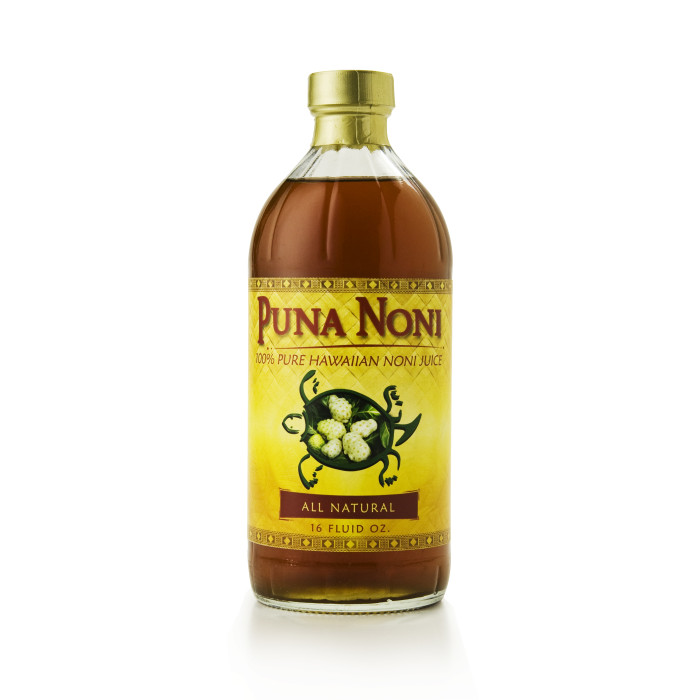 You can find Noni Juice in Hawaii, and you can use it to treat a variety of medical conditions. Photo courtesy Noni Connection