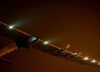 Solar Impulse 2 is solely solar powered,