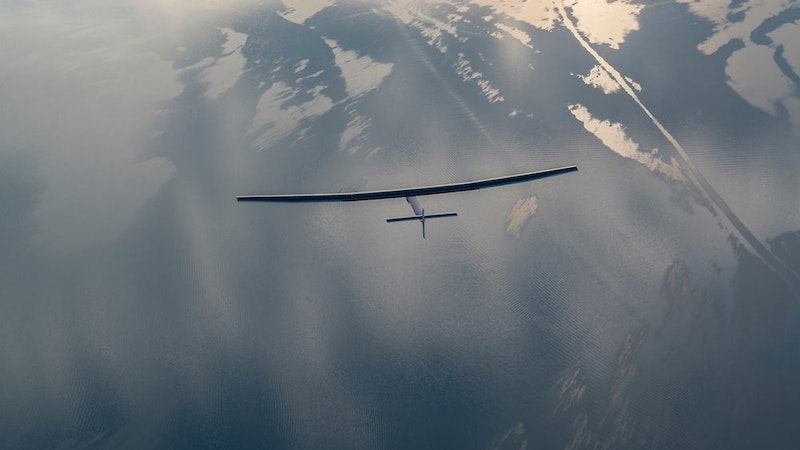 Solar Plane from China Hawaii-Bound