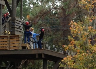 Supporters say the zip line would actually benefit the nature around it.