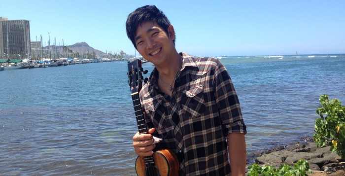 jake shimabukuru by the ocean