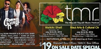 a poster for the Mayjah Rayjah Music Festival