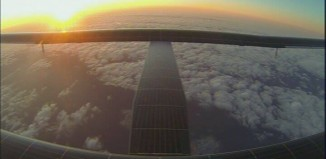 The Solar Impulse 2 on its journey to Hawaii