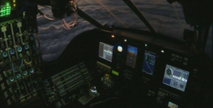 The cockpit of the Solar Impulse 2