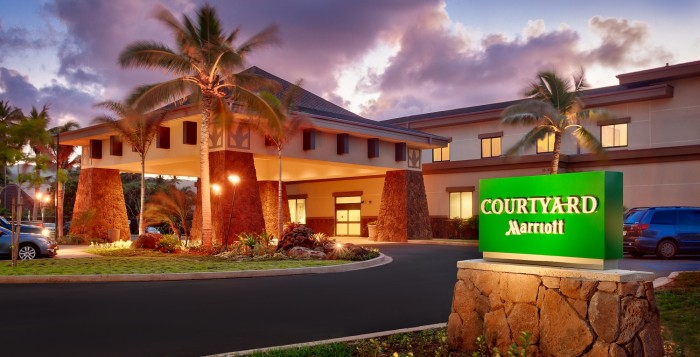 courtyard oahu north shore exterior