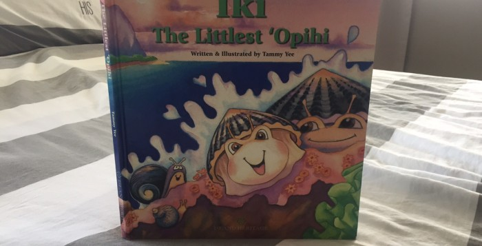 a hawaiian children's book called iki the littlest opihi