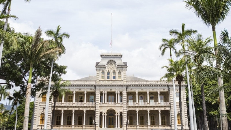 Look to the Carpet When Visiting Iolani Palace