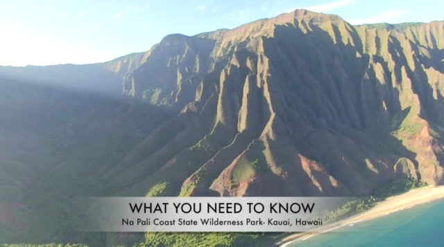 dlnr kalalau trail video