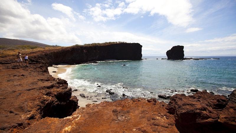 The Island of Lanai in Hawaii