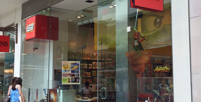 the LEGO® store at ala moana center