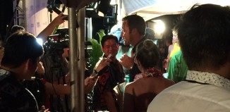 alex o'laughlin at the hawaii five-o premiere