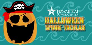 Halloween Spooktacular poster for Hawaii Kai Towne Center