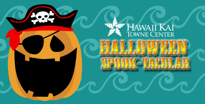 Halloween Spooktacular poster for Hawaii Kai Towne Center