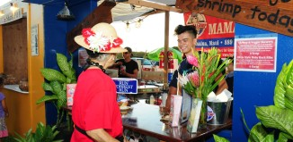 a food booth at the lahaina plantation days celebration