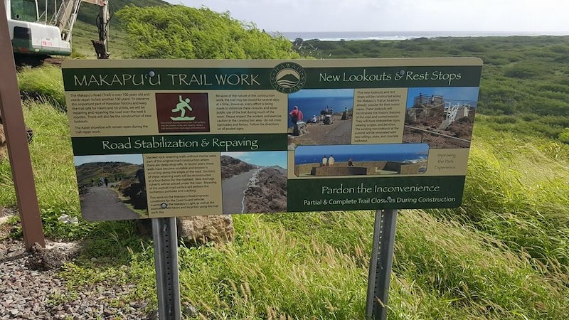 Makapuu Lighthouse Trail in Hawaii Re-Paved and Re-Opened!