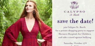 the invitation to the fashion fundraiser for shriners hospitals for children-honolulu