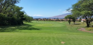 18th hole view