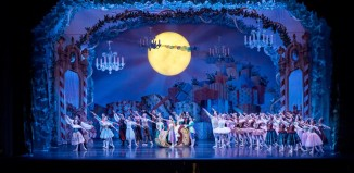 the cast of the nutcracker ballet on stage