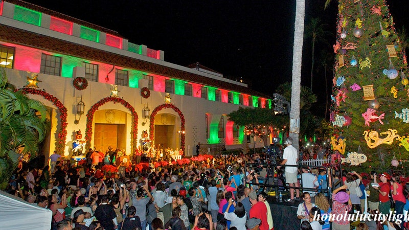 From Roasted Pig to City Lights: Christmas in Hawaii