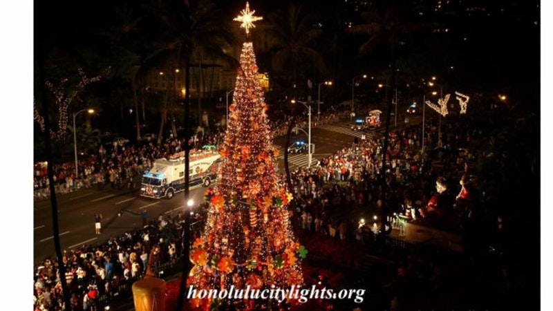 the annual tree lighting ceremony is one of the most anticipated events in honolulu and it marks the beginning of honolulu city lights