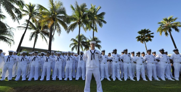 members of the u.s. navy