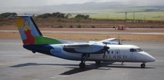 an island air plane