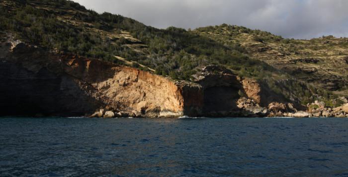 sea caves on Kauai