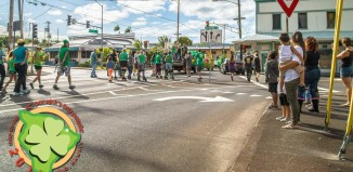 a st. patrick's day parade in hilo