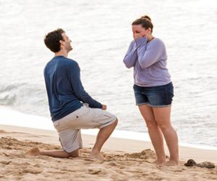Popping the Question in Hawaii